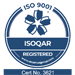 ISO 9001 Quality (ISOQAR) certificate